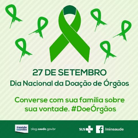 Dia Nacional da Doação de Órgãos e Tecidos