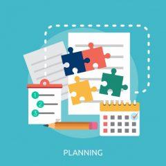 um líder inteligenterealiza o planejamento estratégico