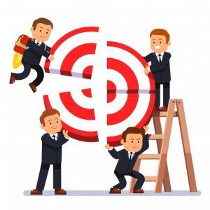 Colaboração para atingir o target